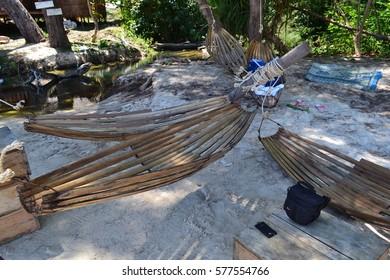 bamboo lounger