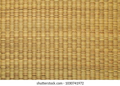 Bamboo mat used for decorations and backgrounds in Asia