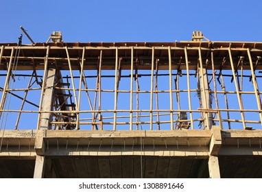 Bamboo Scaffolds for building construction in Thailand