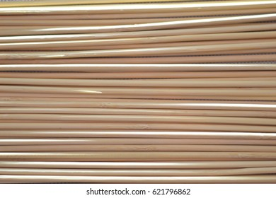 Bamboo sticks mixed in an abstract composition background