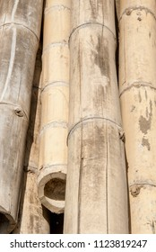 Bamboo timber construction material - Trujillo Peru