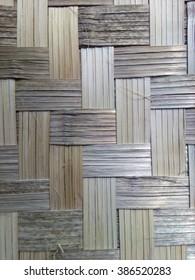 bamboo wall handmade in thailand