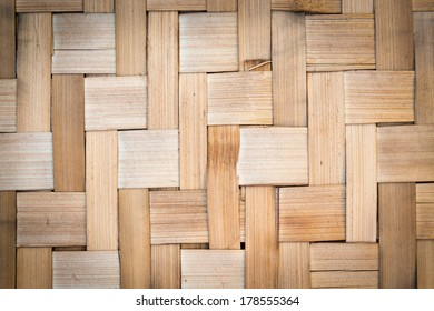 Bamboo wall texture and background