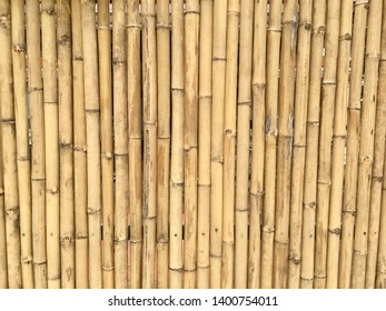 Bamboo wall texture pattern background abstract