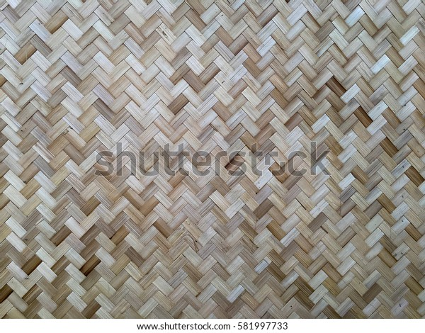 Bamboo walls and floors background