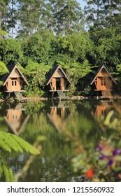 Bambu Hamlet, Lembang, Bandung. West Java. Indonesia