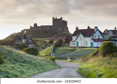 Bamburgh Castle, Northumberland, England, Europe