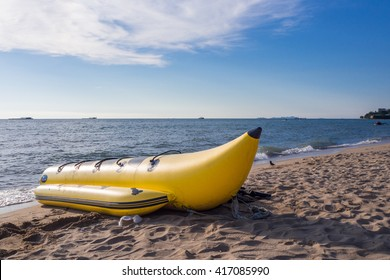Banana Boat at the Sea