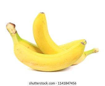 Banana bunch isolated on white
