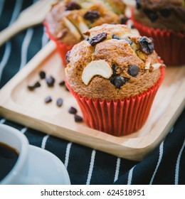 banana cake coffee deseart food stock photo edit now 624382658