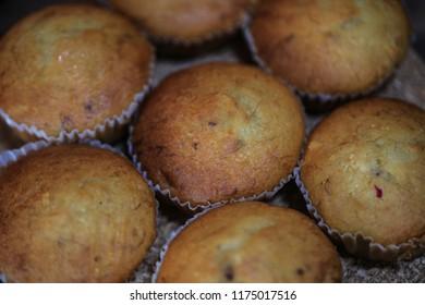 Banana Cake sweet soft delicious leek