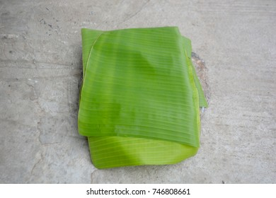 Banana banana cut to decorate in activities such as weddings, fairs, Loy Krathong.
