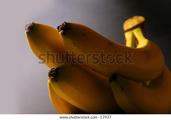 Banana detail.