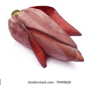 Banana flower eaten as delicious vegetable