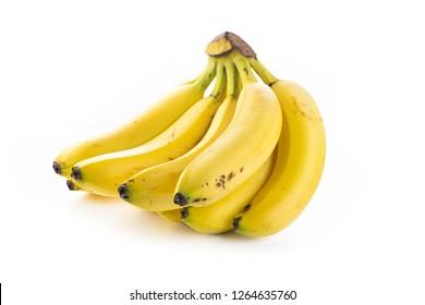 banana fresh isolated in white