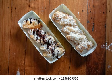 Banana Fritters Street Food Stock Photos Images Photography Shutterstock