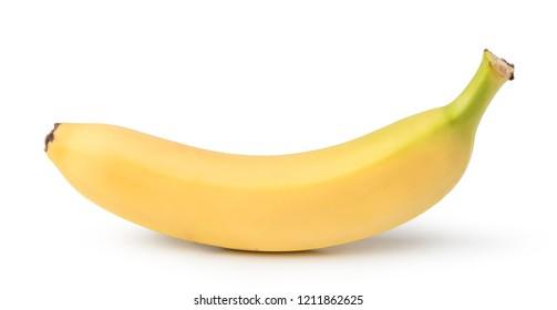 banana fruit isolated on white background
