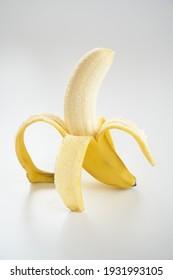 banana fruit on white background