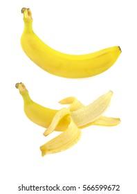 Banana isolated.