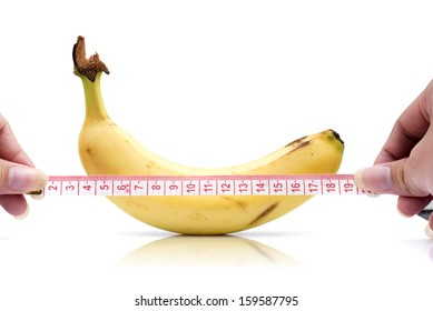 Banana length (male genital concept of an advertisement can be used)