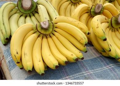 Banana at the market