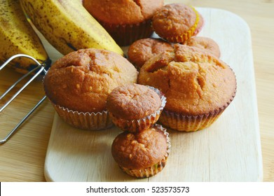 Banana muffins are easy for kids to make. Easiest and best Banana cupcakes .