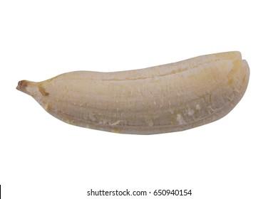 Banana peeled isolate