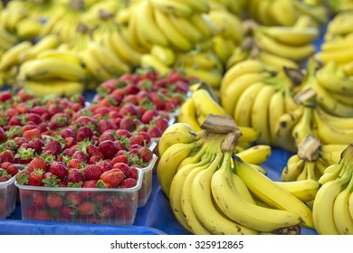 Banana And Strawberry