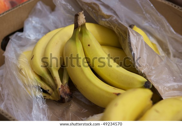 Bananas in the box