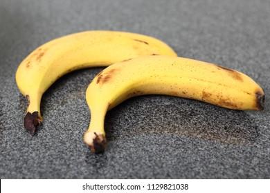 Bananas on Granite Slab