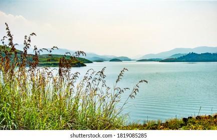 Banasura Sagar Dam sight Wayanad Kerala India