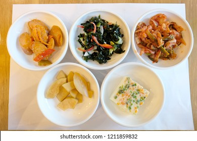 Banchan is a collective name for small side dishes served along with cooked rice in Korean cuisine. As the Korean language does not distinguish between singular and plural grammatically.