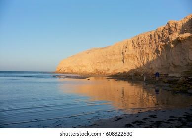 Bancs d'Arguin National Park, Cape Tafarit, Mauritania. A famous spot for fishing.