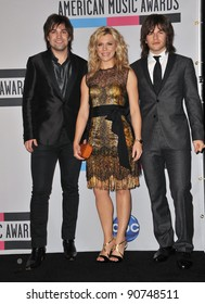 The Band Perry at the 2011 American Music Awards at the Nokia Theatre L.A. Live in downtown Los Angeles. November 20, 2011  Los Angeles, CA Picture: Paul Smith / Featureflash