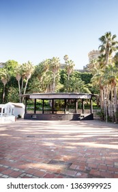 band stand in Parque Botánico El Majuelo, botanical park situated in almunecar spain