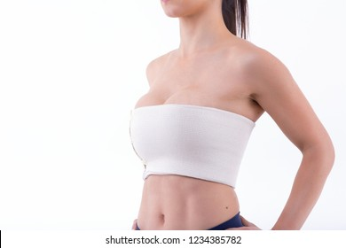 bandage breast enlargement