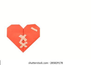 Bandaid fix the broken heart