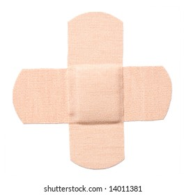 Bandaid isolated (with clipping path)