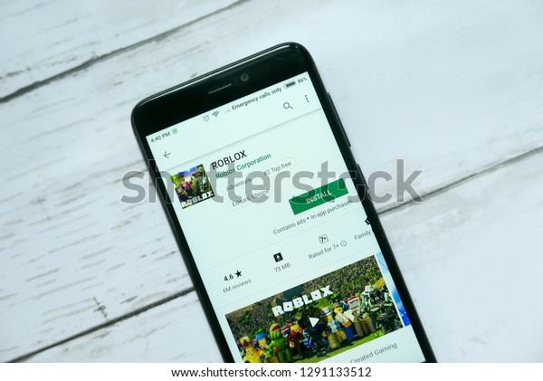 Google Play Store Roblox Upgrade Bandar Seri Begawanbrunei January 21st2019 Roblox Technology Stock Image 1291133512