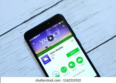 Imágenes, fotos de stock y vectores sobre Yahoo Weather