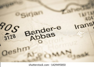 Bander-e Abbas, Iran on a map