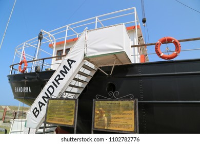 'BANDIRMA' Steamboat. SAMSUN/TURKEY 13.08.2013