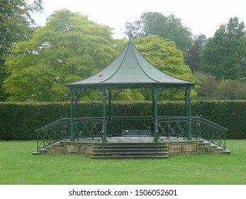 Bandstand in the Abbey Grounds , Cirencester