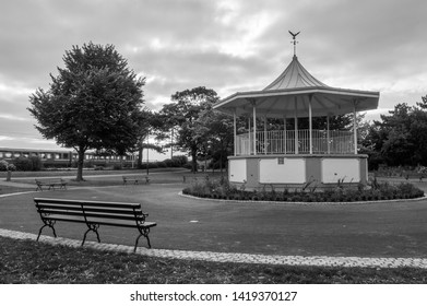 Bandstand with Bench and train