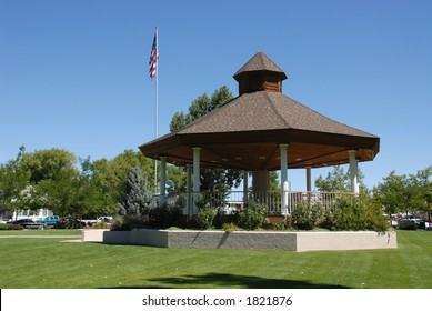 Bandstand, Minden, Nevada