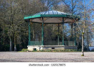 Bandstand in the Public Gardens at Saint Omer, France