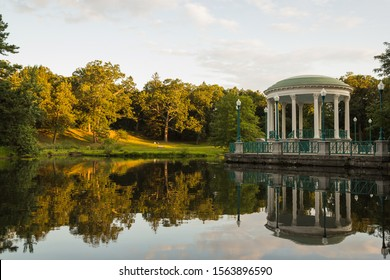 The bandstand, in Roger Williams Park, in Providence, Rhode Island