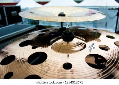 Bandung, Indonesia - 21st 05 2015: A Cymbals