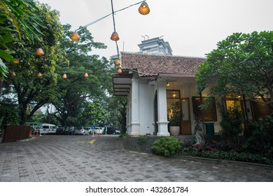 BANDUNG, INDONESIA - JANUARY 18 2016: Rumah Mode is one of the shopping place with discount in Bandung, Indonesia.