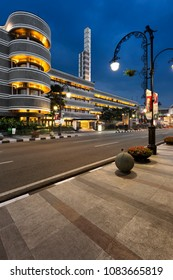 Bandung, Indonesia - May 15 2015: Savoy Homann is the finest hotel in Bandung. It has long history, including to accommodate the delegates and leaders in the event of Asia Africa conference in 1955